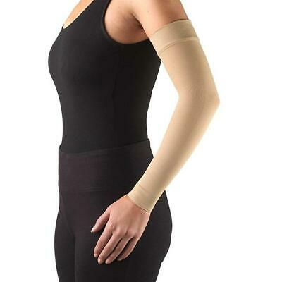 8220db08126 Ames Walker AW Style 702 Lymphedema Armsleeve w SoftTop - 15-20 mmHg Sand