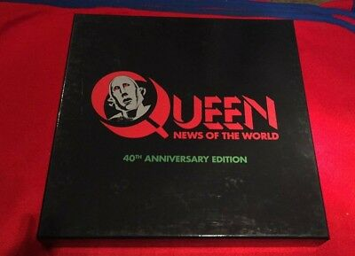 Queen - News Of The World - 40Th Anniversary Edition - Deluxe Cd / Dvd Boxset