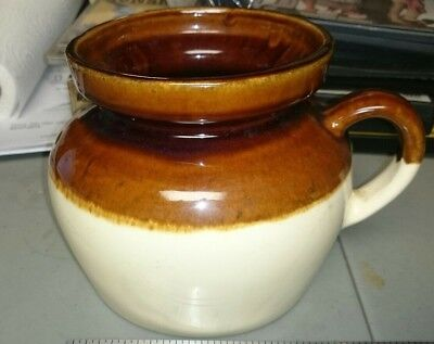 RRP Brown Stoneware Pitcher Robinson, Ransbottom Pottery Co. Roseville, Ohio