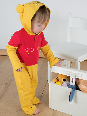Disney Winnie The Pooh Tigger Baby Toddler Romper Fancy Dress Costume Outfit