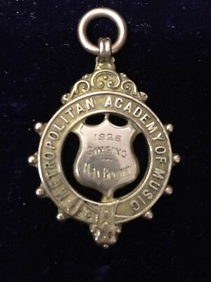 Vintage 9ct Yellow Gold Watch Fob / Medal 6.3g