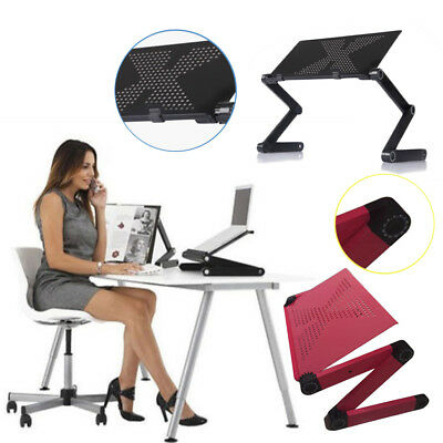 Portable Folding Laptop Computer Notebook Table Laptop Stand Desk Bed Tray