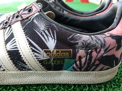 the best attitude ca3a2 83a7a Adidas Originals Gazelle Shoes OG Floral print S7881 Multicolor Womens Sz 6