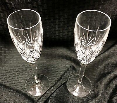 """Waterford Crystal WYNNEWOOD Fluted Champagne Flute Glass 9 1//4/"""""""