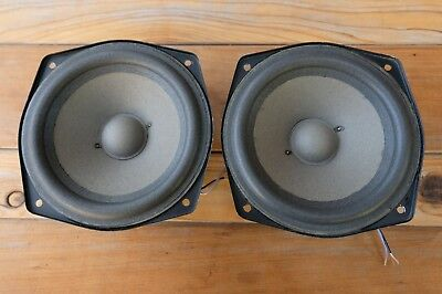 "ADS 7"" Woofers Pair New Surrounds for L710 and 700 8ohm 206-0318 Braun A/D/S 1"