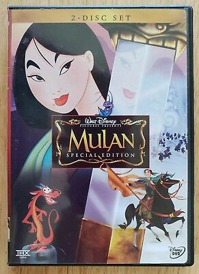 Mulan (DVD, 2004, 2-Disc Special Edition)