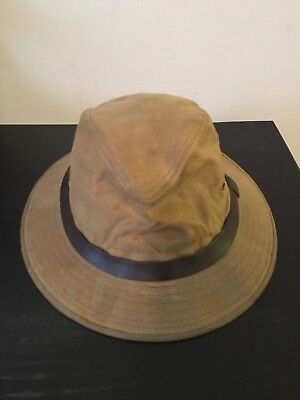Vtg Filson Waxed  Canvas Hat