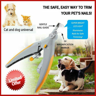 Pain-Free Professional Pet Nail Clipper Grinder Dog Also Work For Black Nails