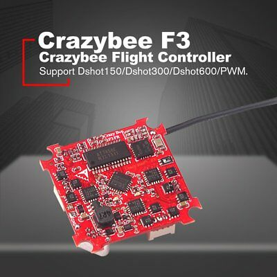 Crazybee Tiny F3 Drone Flight Controller FC with Frsky Receiver/4in1 ESC/OSD YK