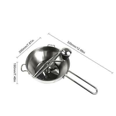 Durable Dishwasher Safe Stainless Steel Food Jam Mill Agitator Milling Discs Hot