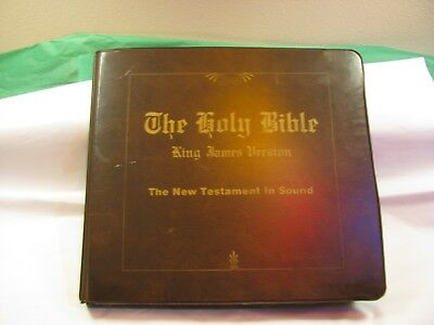 Alexander Scourby Holy Bible King James Version New And Old