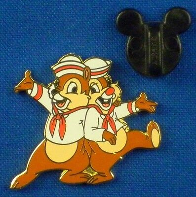 Disney DCL FAB 5 Characters /& Friends Chip /& Dale Pin
