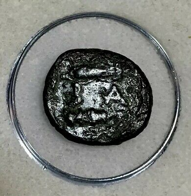 Ancient Greek Alexander III The Great Bronze Coin B.C. 336-323 Club of Hercules