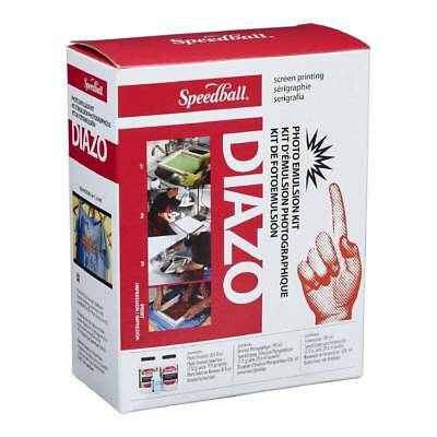 Speedball Diazo Photo Emulsion Kit White for Screen Printing Rubber Wood