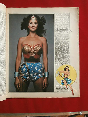 Radio Times 1 - 7 July 1978 - WONDER WOMAN (Lynda Carter) / VIRGINIA WADE