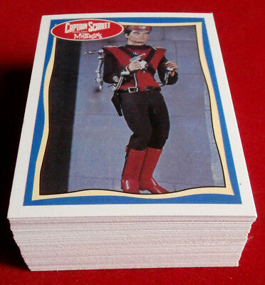 STINGRAY, THUNDERBIRDS, CAPTAIN SCARLET Complete Base Set 66 Cards - Topps, 1993