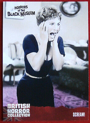 BRITISH HORROR COLLECTION - Horrors of the Black Museum  - SCREAM! - Card #28