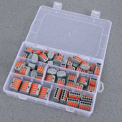 60X PCT212 2/3/5 Way Electric Cable Electrical PTC Wire Connector Terminal Block