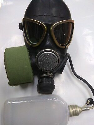 GAS MASK PMK-2 drinking system (Mask,Filter,Flask), New,Russian Army