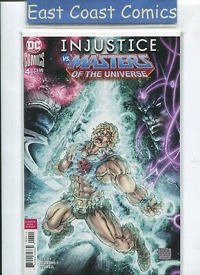 INJUSTICE vs MASTERS OF THE UNIVERSE #4 - 1st PRINT - DC