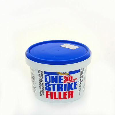 250ml One Strike Filler | Decorators Ready Mixed Light  Quick Dry Wall Hole Gap