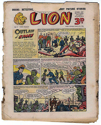 Lion 22nd March 1952 (#5, reading copy) Captain Condor, Amazing Advs of Mr X