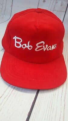 6181d8a9ad7 VINTAGE NIAGRA FALLS Corduroy Hat Red Snapback -  17.00