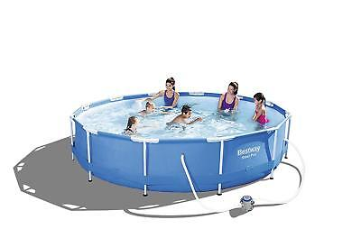 Bestway 12ft Steel Pro MAX Swimming Pool with Filter Pump, 6473 litres, 30 Inch