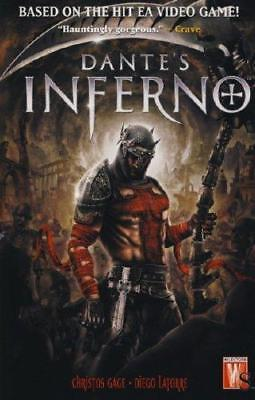 Dante's Inferno - Graphic Novel (Based on Game) - Christos Gage, Latorre - NEW