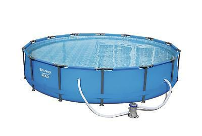 Bestway 14ft Steel Pro MAX Swimming Pool with Filter Pump, 10220 litres, 30 Inch