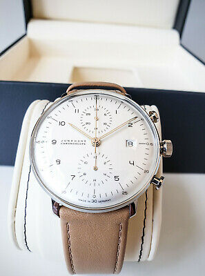 Junghans Max Bill Chronoscope Mens Automatic Chronograph Watch