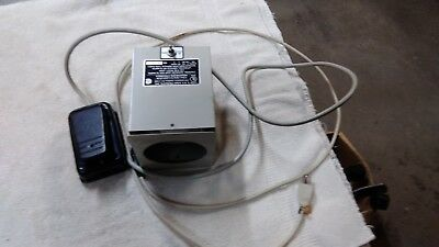 S & S X Ray Film Illuminator variable Foot Controlled Viewing Lamp Light 188