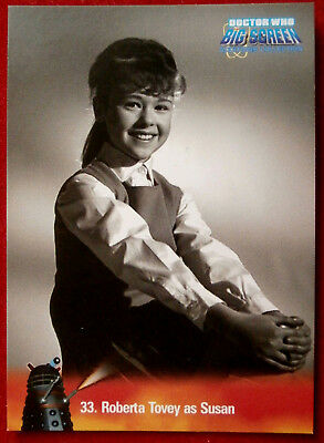 DR WHO - Big Screen Additions - Card #33 - ROBERTA TOVEY AS SUSAN - Inkworks