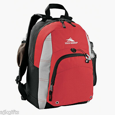 High Sierra Impact Daypack Backpack - Red