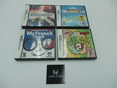 Nintendo DS 4 Game Lot