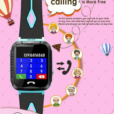 Y34 ANTI LOST Child GPS Tracker SOS Positioning Tracking smart Phone GPS  WaNE@