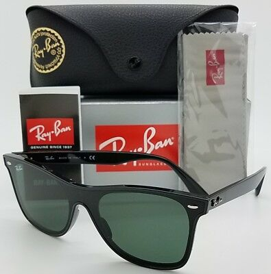 NEW Rayban Blaze Wayfarer sunglasses RB4440N 601 71 Black Green RB4440  AUTHENTIC f2abb4926f1