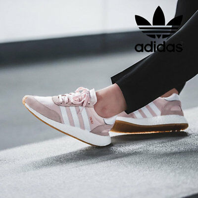 adidas Originals Iniki Runner Pink White GUM Women Sz 7.5 Sneakers Shoes  BY9094 30ad68c08