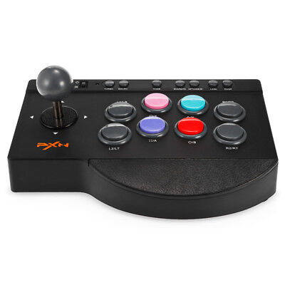 Pxn -0082 Arcade D-Pad Joystick Game Controller per Pc / Ps3 / Xbox One / Ps4
