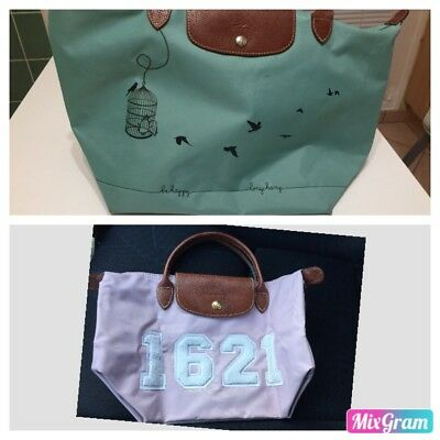 Lot De 2 Pliage Sac Longchamp rqr4xpn0v