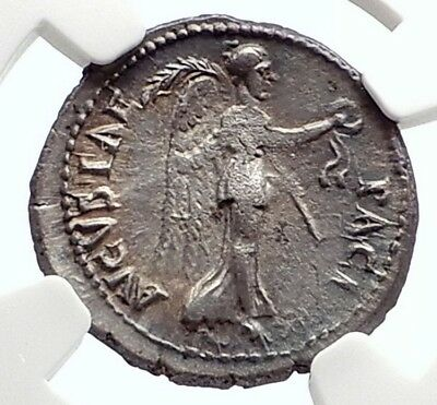 VESPASIAN Possible Judaea Capta Ephesus Ancient Silver Roman Coin NGC i75083