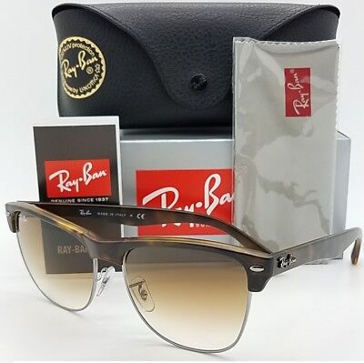 13141cb972 NEW Rayban Oversized Clubmaster RB4175 878 51 Havana Gradient GENUINE 4175  Club