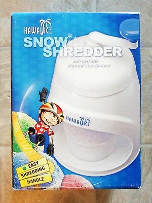 Back to basics hawaii ice snow shredder ez shred manual ice shaver.