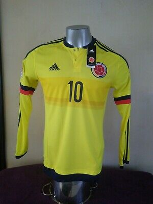 f11cadcec Colombia National Team Fcf Fifa Qualifier James Home Jersey Adidas M62786  Medium