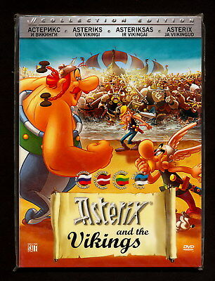 Asterix and the Vikings 2006 DVD Language: English French Russian Latvian LT