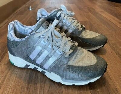best sneakers f9adc 507d4 Adidas Originals Eqt Equipment Running Men s Shoes Size Us 9.5 Gray White 9  1 2