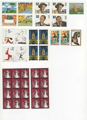 35 Cent Postage Combo Stamps Enough to Mail 17 Postcards - Face Value $5.95