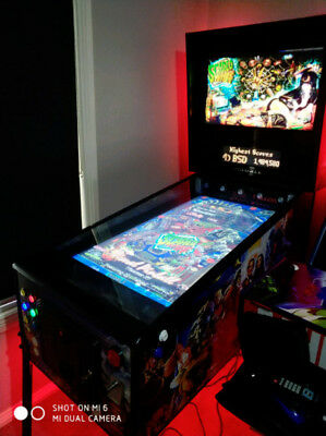 Virtual Pinball Machine - One of a Kind - Full Force Feedback System