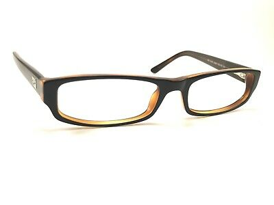 307d3069a8 Authentic Ray Ban RB5127 2044 Black Transparent Brown Rx Eyeglasses Frames  50 16