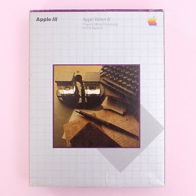 Vintage Apple III 'Apple Writer III' Word Processing [Box & Manual ONLY]